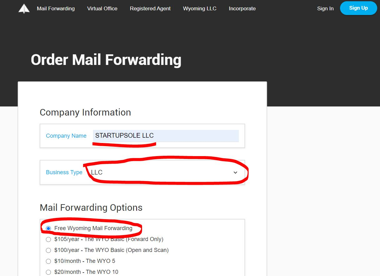 amerikada adres almak 2 15$'a Wyoming Posta Yönlendirme için Adres Almak