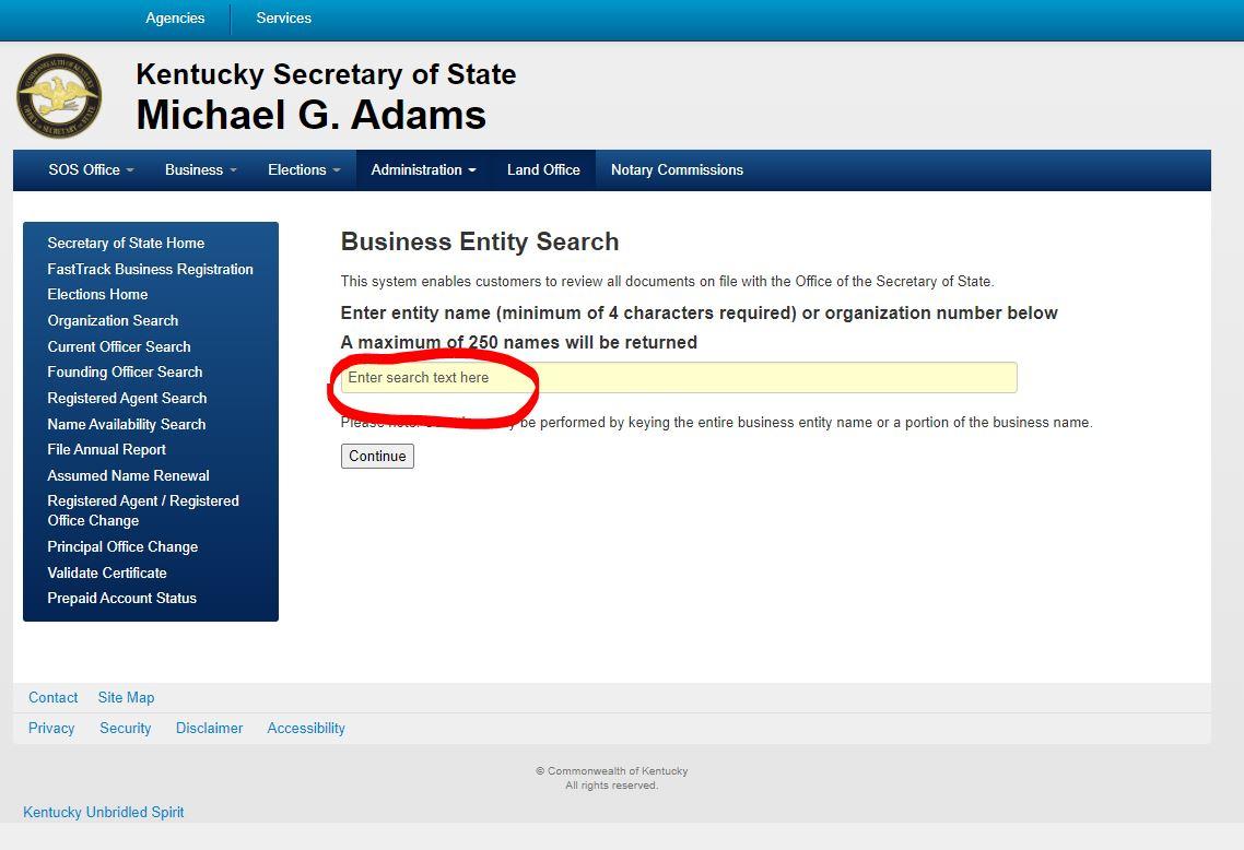 kentucky llc sirket iyi itibar sertifikasi almak 2 Kentucky LLC için İyi İtibar Sertifikası Almak