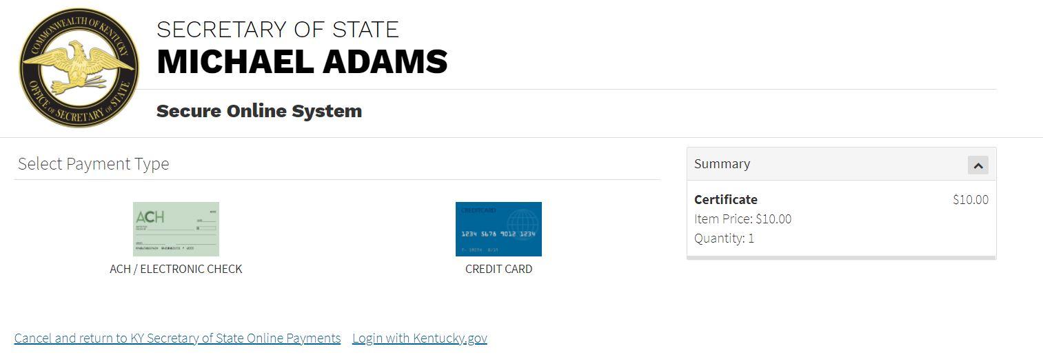 kentucky llc sirket iyi itibar sertifikasi almak 6 Kentucky LLC için İyi İtibar Sertifikası Almak