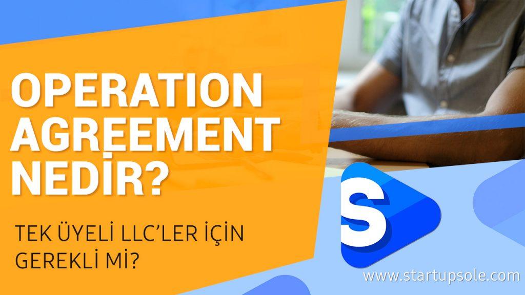 Operation Agreement Nedir?