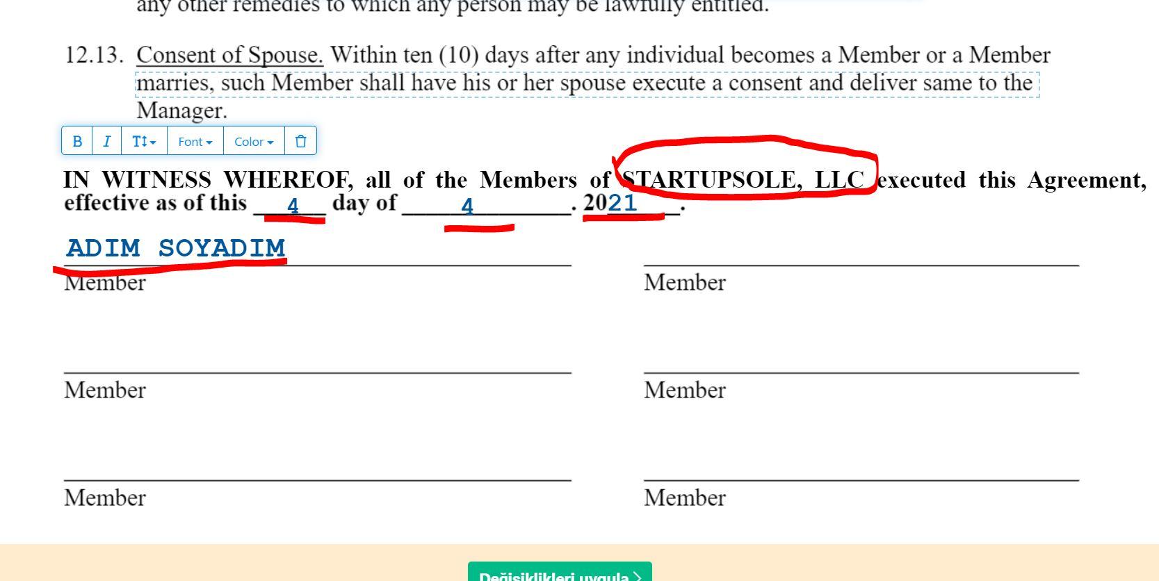 operation agreement nedir 4 Operating Agreement Nedir? Tek üyeli LLC'ler İçin Gerekli Mi?