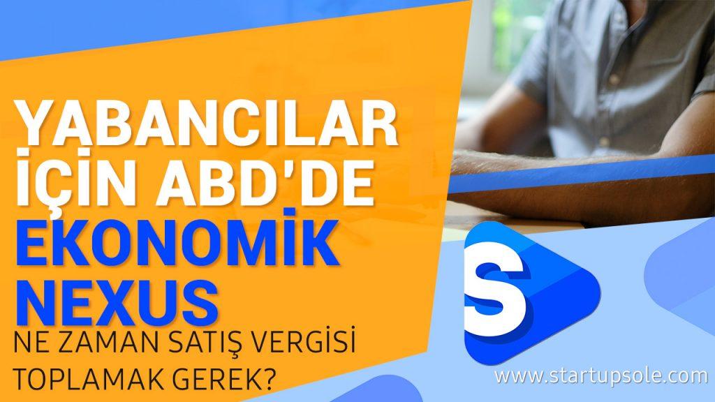 Ekonomik Nexus yabancı llc şirketler için ABD'de satış vergisi