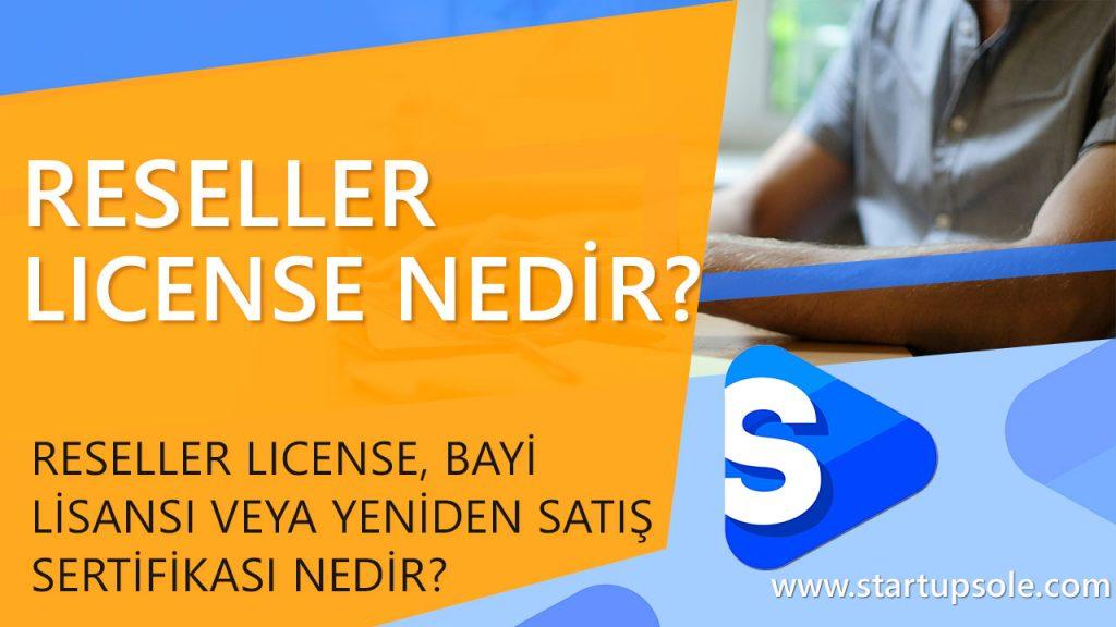 Reseller License, Resale Certificate, Seller Permit Nedir?