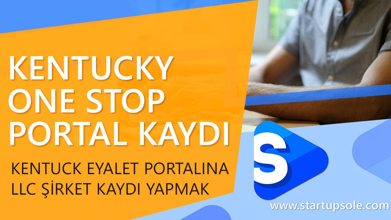 kentucky onestop portal llc kaydi Kentucky LLC'yi One Stop Portal'a Kaydedin