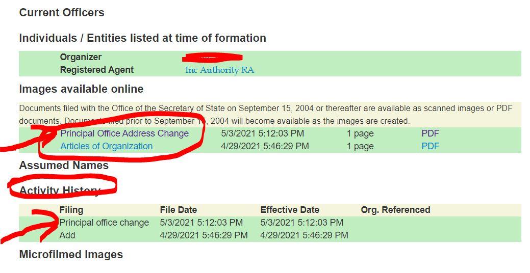 kentucky llc adres degisikligi 1 Kentucky LLC İçin Adres Değiştirme Süreci