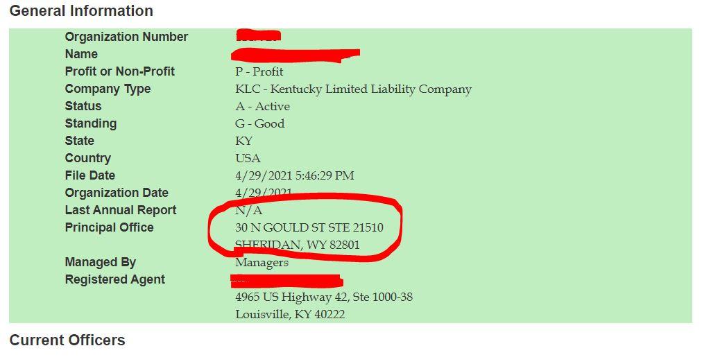 kentucky llc adres degisikligi 6 Kentucky LLC İçin Adres Değiştirme Süreci