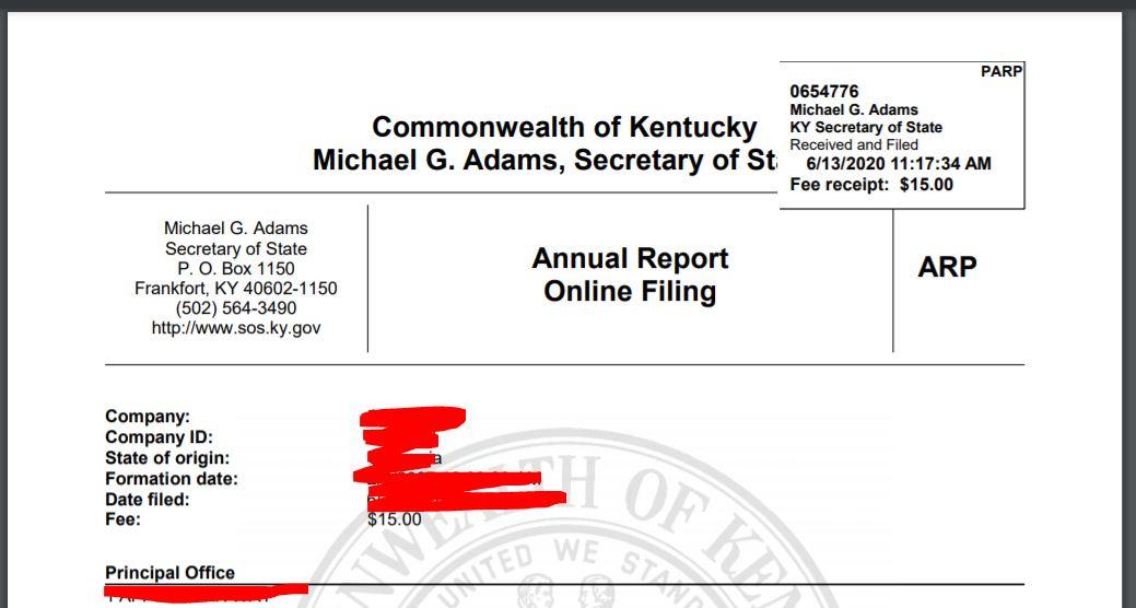 llc yillik raporlama annual report hazirlamak 5 LLC için Yıllık Raporlama (Annual Report)