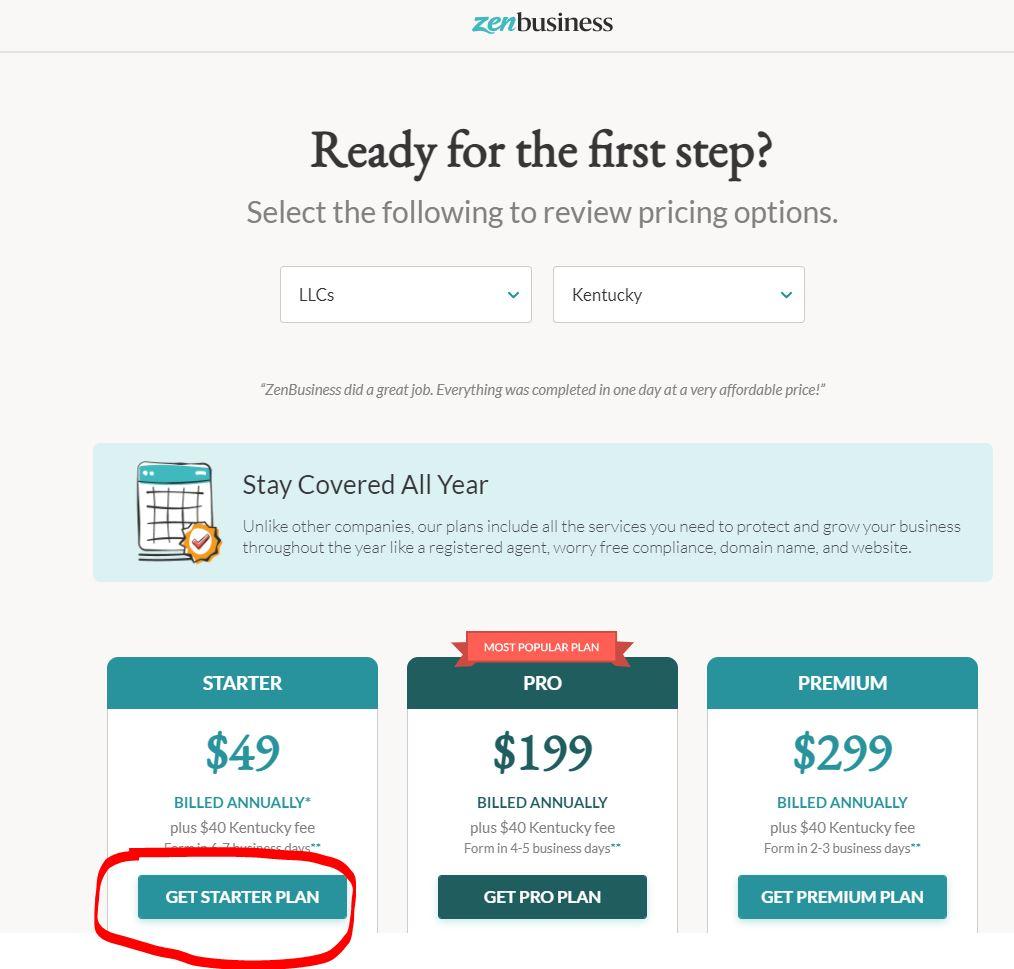 zenbusiness amerikada sirket kurmak 3 ZenBusiness ile Amerika'da 89$'a Şirket Kurmak