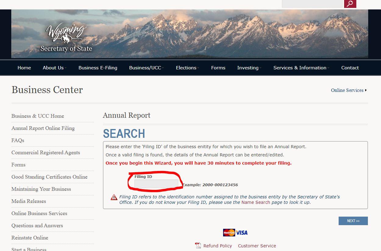 wyoming llc yillik rapor Wyoming LLC İçin Yıllık Rapor Nasıl Ödenir?